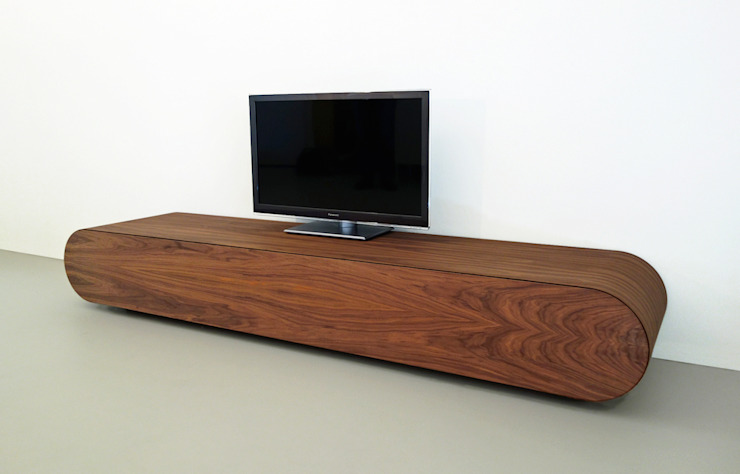 TV meubel Pure - notenhout: modern  door RKNL, Modern