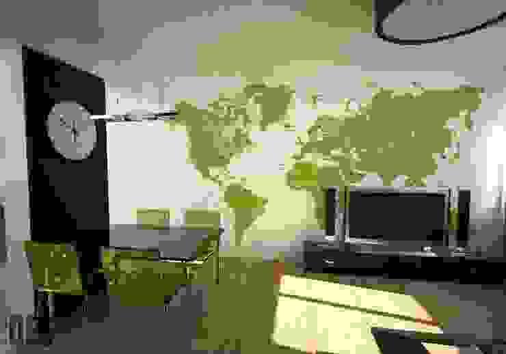 Modern Living Room by OES architekci Modern