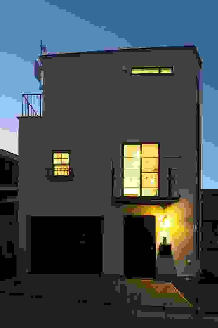 西原の家 モダンな 家 の 折原剛建築計画事務所/Tsuyoshi Orihara Architects モダン