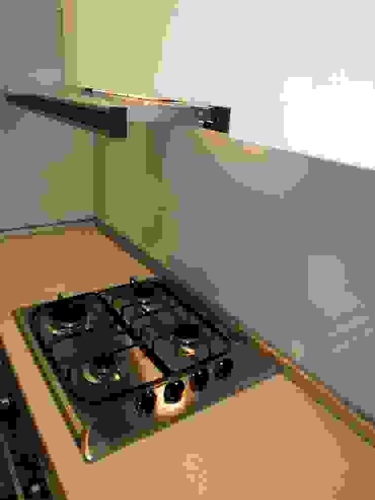 Маленькая кухня-студия от KARYADESIGN architecture studio