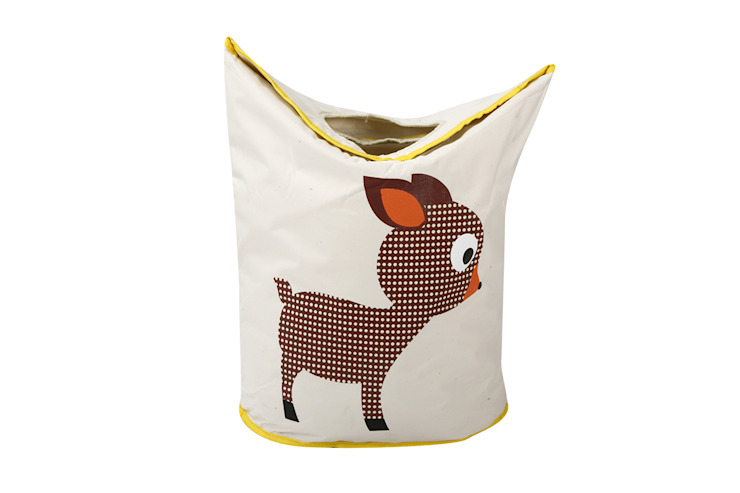 UberLyfe Foldable Baby Deer Laundry Bag cum Storage Box for Kids - Large: modern  by Uberlyfe,Modern