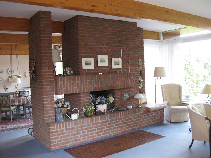Fourways ML - The Brick Panels: modern tarz , Modern