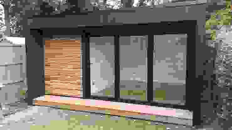 Garden Studio with storage Modern study/office by Office In My Garden Modern