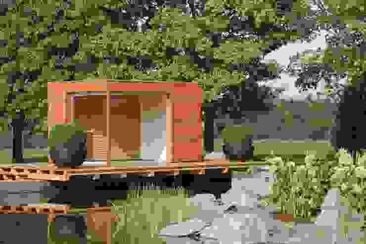 Gartenlounge Moderner Balkon, Veranda & Terrasse von Gartenhauptdarsteller Modern