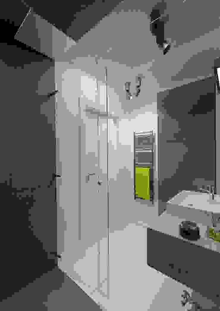 Apartament 60m2 Puławy Minimalistyczna łazienka od The Vibe Minimalistyczny