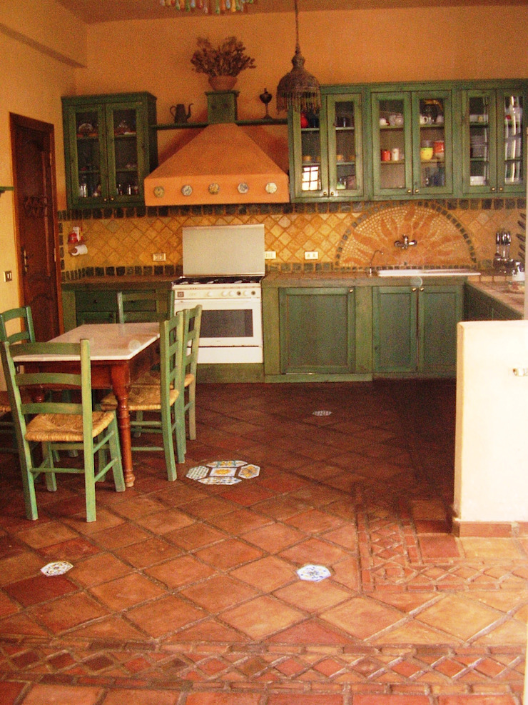 cucina in muratura von Il mosaico sas & co di salem mohsen ...