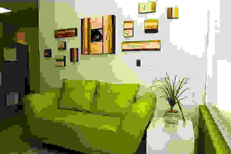 Proyectos en Residencias: Salas de estilo  por Galeria Ivan Guaderrama, Minimalista