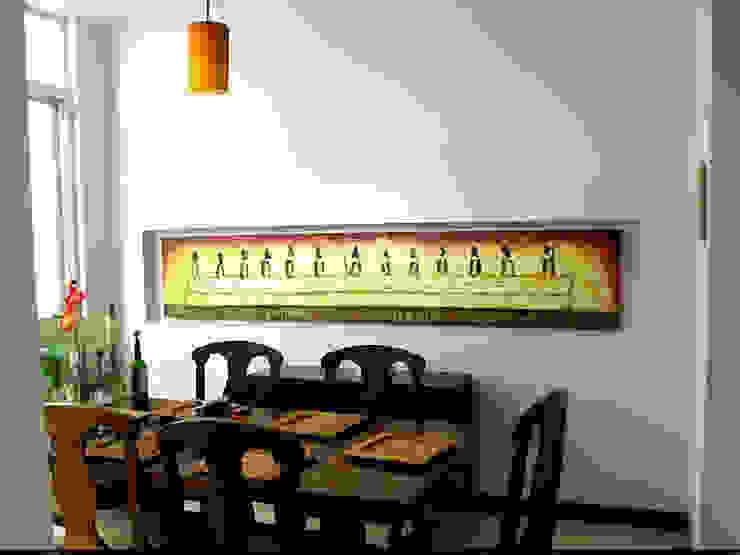 Galeria Ivan Guaderrama Ruang Makan Klasik