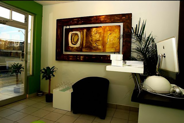 Galeria Ivan Guaderrama Koridor & Tangga Gaya Country