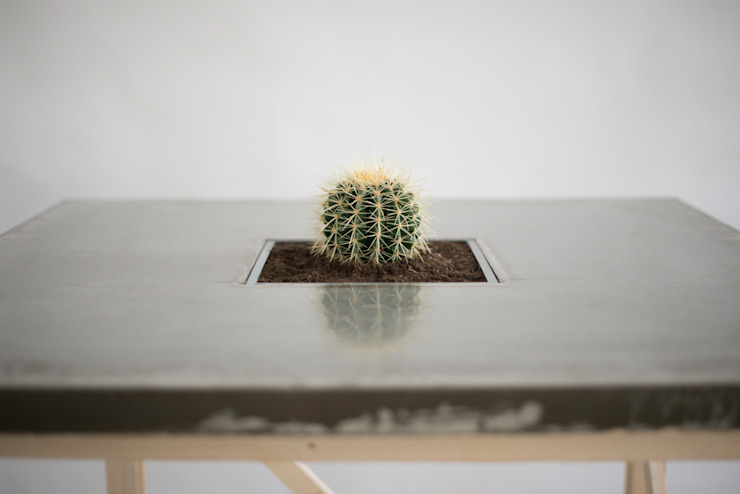 Accidental Concrete Dining roomTables