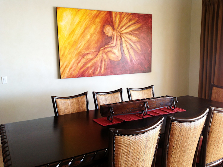 Galeria Ivan Guaderrama Ruang Makan Gaya Rustic