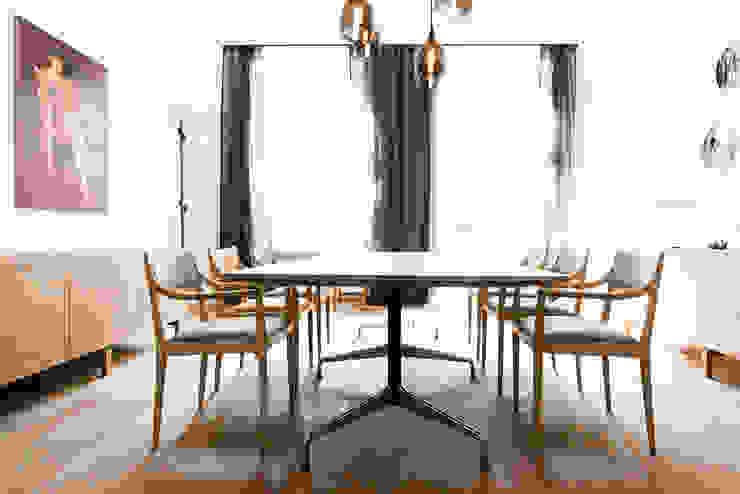 scandinavian  by Loft Kolasiński, Scandinavian Solid Wood Multicolored
