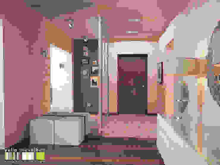 СТИЛЬ И ХАРАКТЕР Коридор, прихожая и лестница в стиле минимализм от Мастерская интерьера Юлии Шевелевой Минимализм