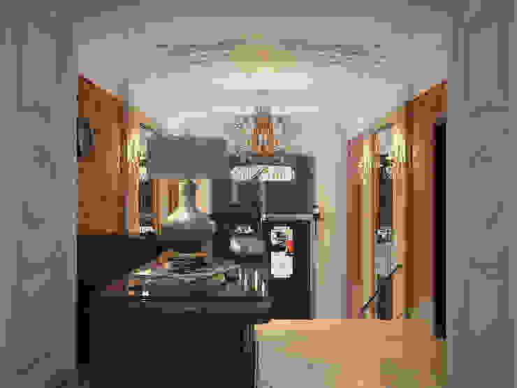 Отель на улице Чехова.Санкт-Петербург. Коридор, прихожая и лестница в классическом стиле от АРТ АТЕЛЬЕ Классический