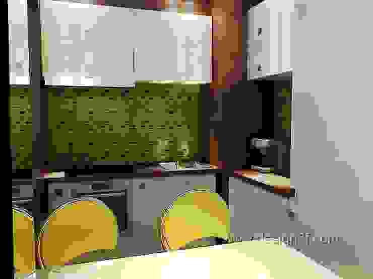 кухня Кухня в стиле модерн от студия Design3F Модерн