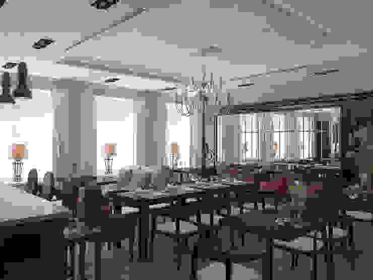 Отель на улице Чехова.Санкт-Петербург. Столовая комната в классическом стиле от АРТ АТЕЛЬЕ Классический