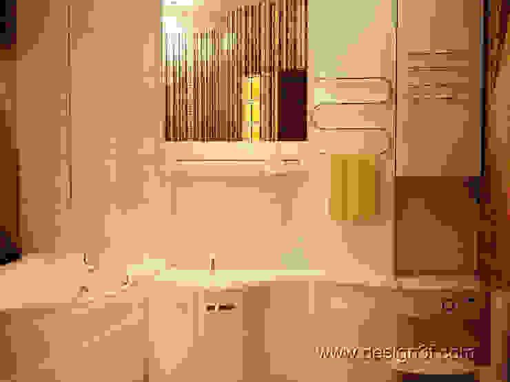 ванная Ванная комната в стиле модерн от студия Design3F Модерн