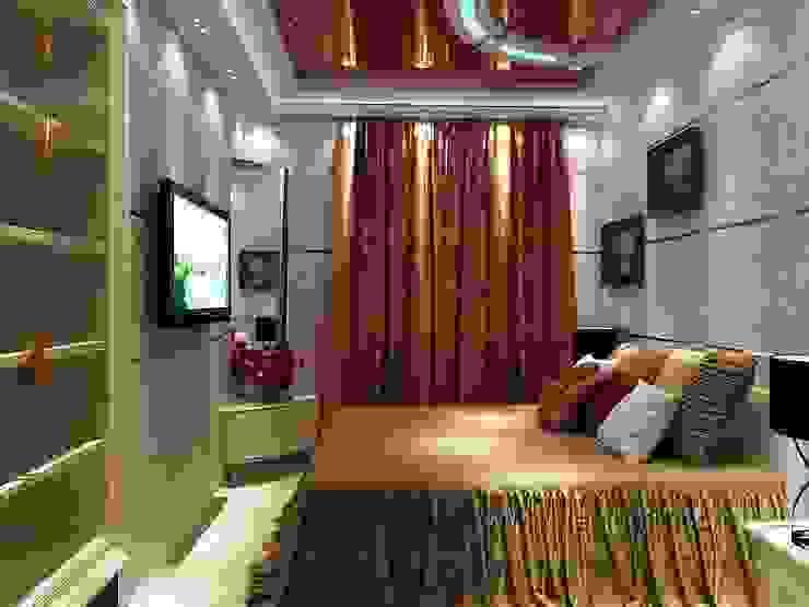 спальня Спальня в стиле модерн от студия Design3F Модерн