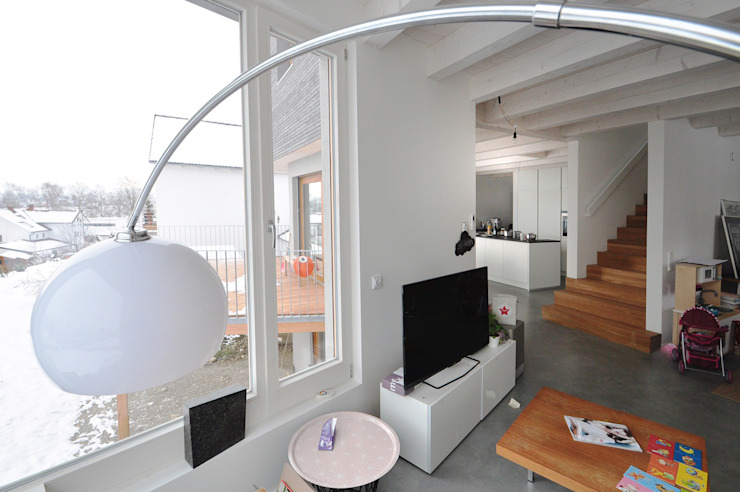 Pakula & Fischer Architekten GmnH Livings de estilo ecléctico