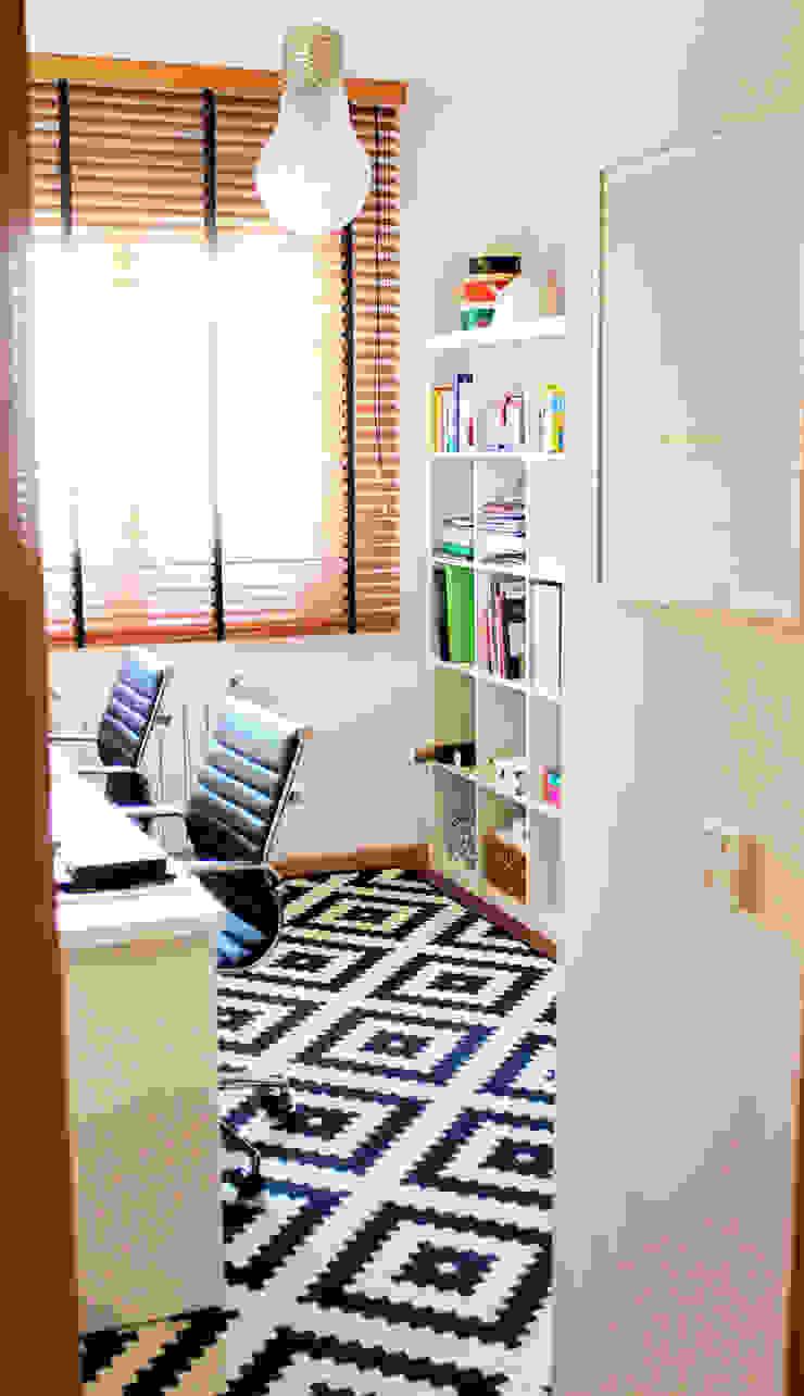 Estudio en casa Estudios y despachos de estilo ecléctico de itta estudio Ecléctico