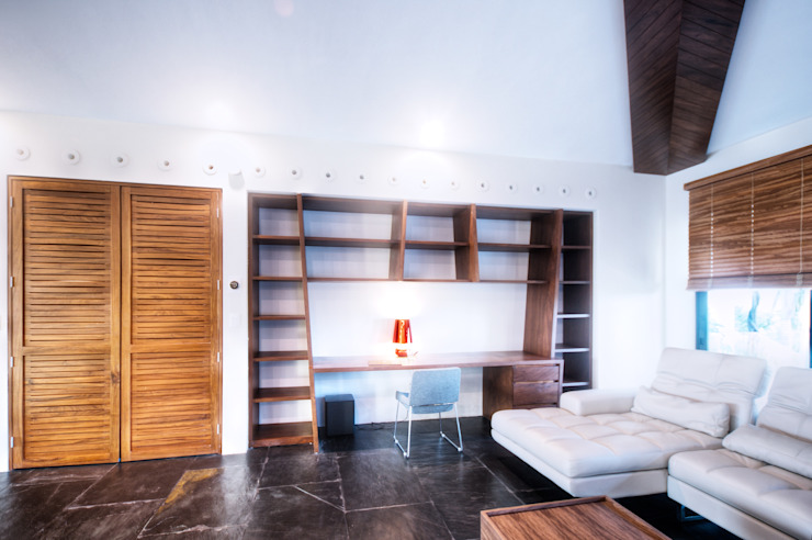 sanzpont Modern Study Room and Home Office