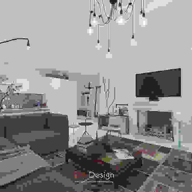 DA-Design Skandinavische Wohnzimmer