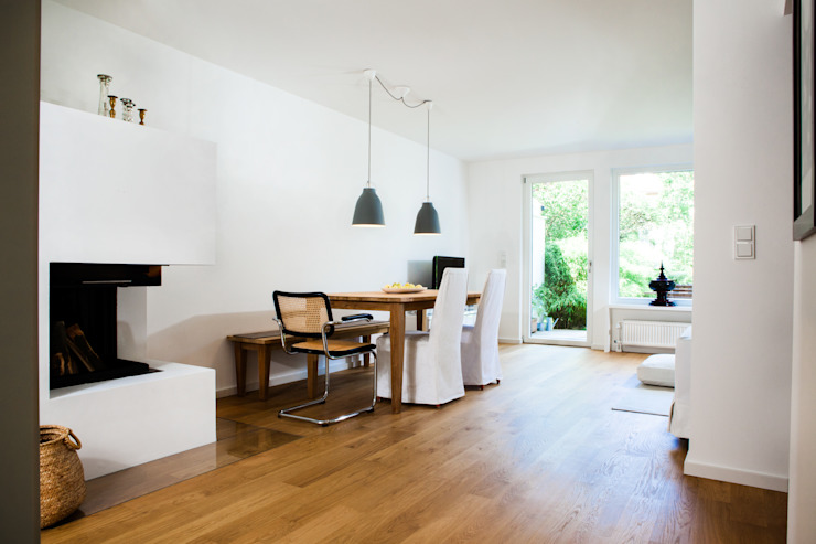 Ruang Makan Modern Oleh Bettina Wittenberg Innenarchitektur -stylingroom- Modern