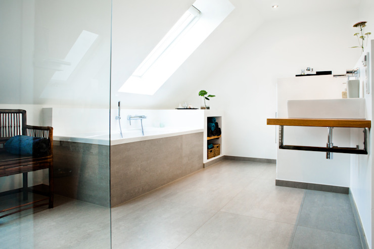 Kamar Mandi Modern Oleh Bettina Wittenberg Innenarchitektur -stylingroom- Modern