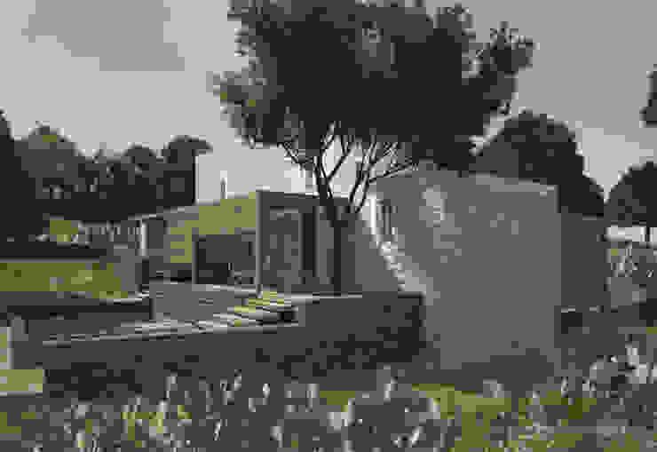 Restorated House 2 - Back View Akdeniz Evler Atelye 70 Planners & Architects Akdeniz