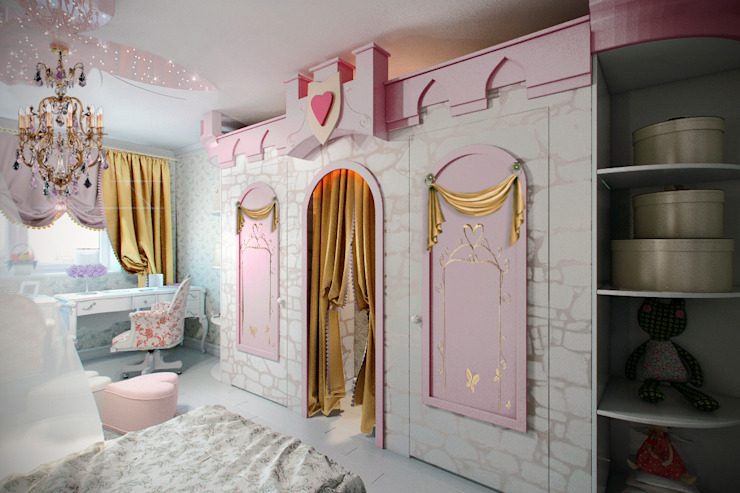 Детская Детская комнатa в классическом стиле от meandr.pro Классический