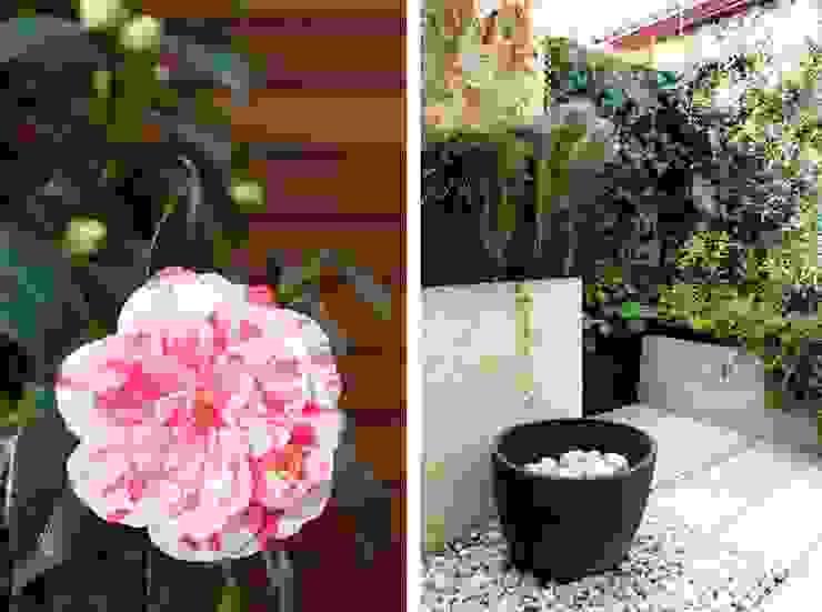 Jardín en Patio con Fuente de La Habitación Verde Mediterráneo