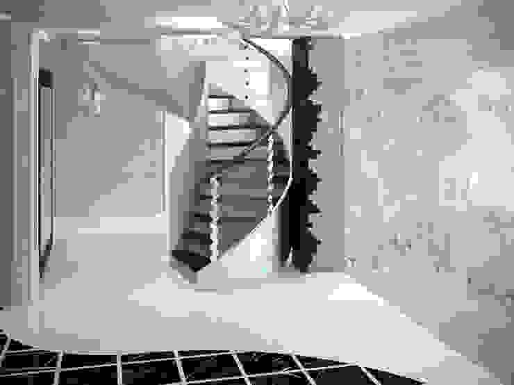 Холл 1 этаж Коридор, прихожая и лестница в классическом стиле от meandr.pro Классический