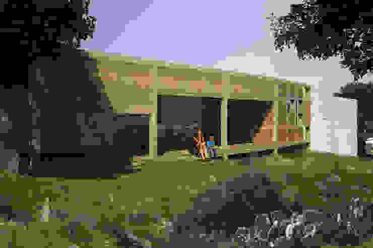 Restorated House 1 - Back View Akdeniz Evler Atelye 70 Planners & Architects Akdeniz