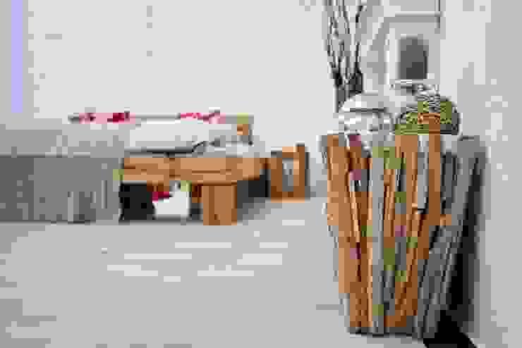 Schlafzone (1) Industriale Geschäftsräume & Stores von Alexandra Flohs interior design Industrial