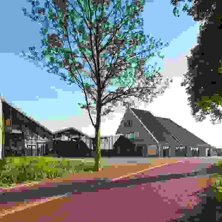 Entreehal Moderne scholen van Peter van Aarsen Architect Modern