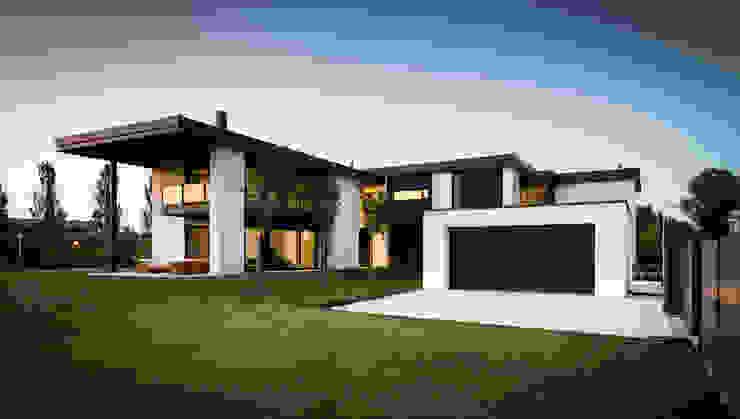 Villa T Case moderne di atelier35 Moderno
