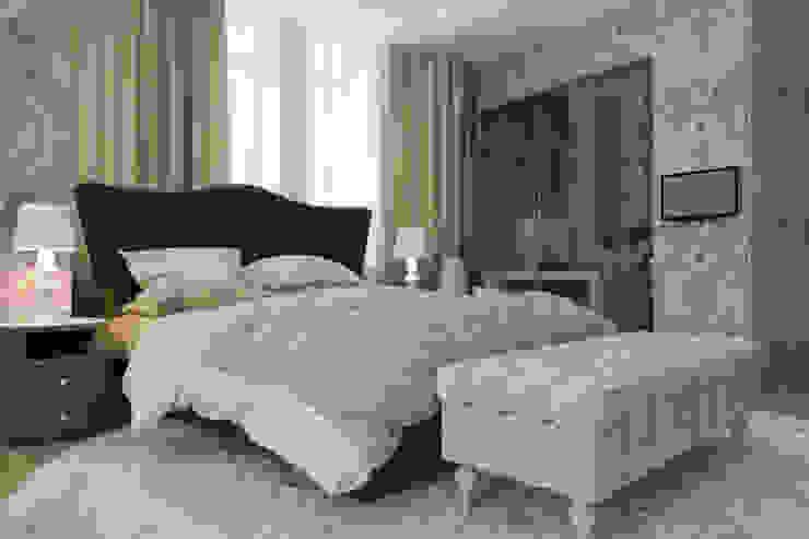 спальня Спальня в стиле модерн от pashchak design Модерн