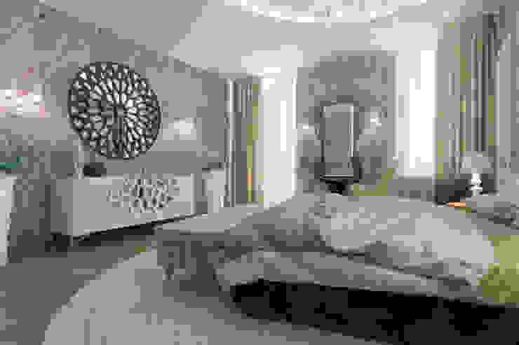 тумба с зеркалом Спальня в стиле модерн от pashchak design Модерн