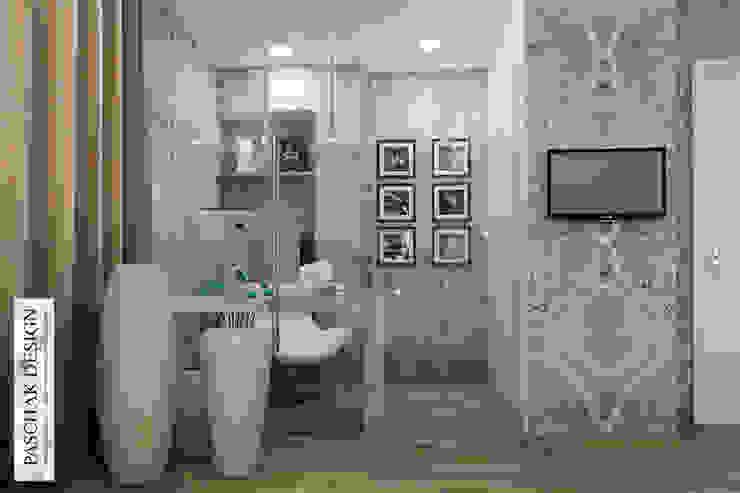 кабинет+спальня Рабочий кабинет в стиле модерн от pashchak design Модерн