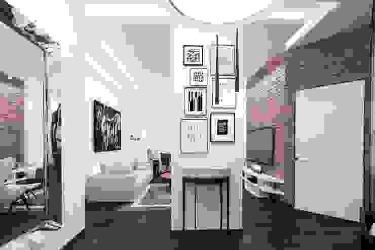 кипичек Коридор, прихожая и лестница в стиле лофт от pashchak design Лофт
