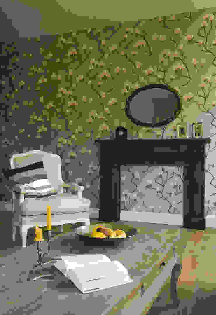 Pastelowy Wilanów Klasyczny salon od Pracownia Projektowa Poco Design Klasyczny