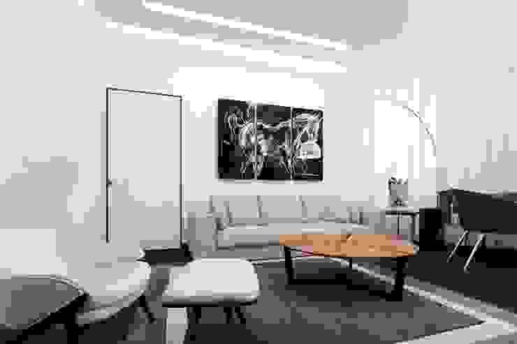 гостиная Гостиная в стиле модерн от pashchak design Модерн