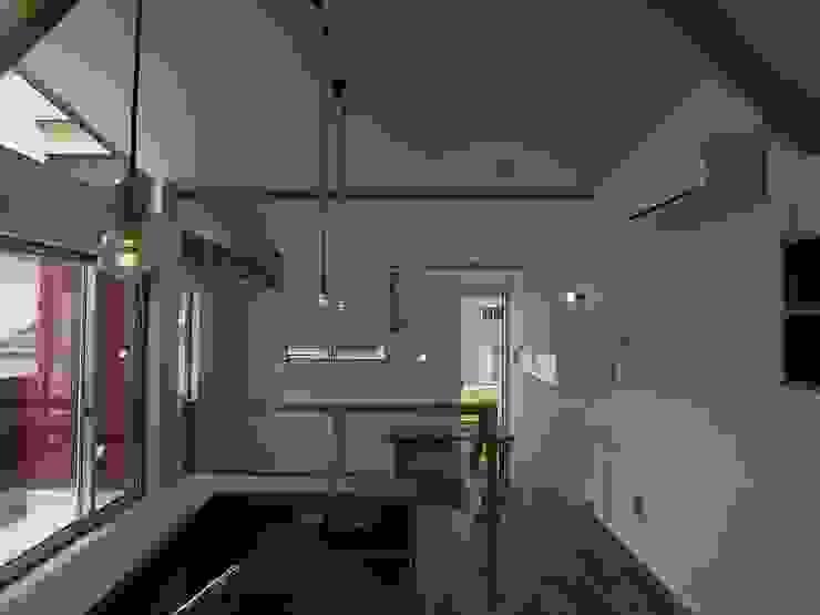 八幡の家Ⅱ オリジナルデザインの ダイニング の 萩野建築設計 オリジナル