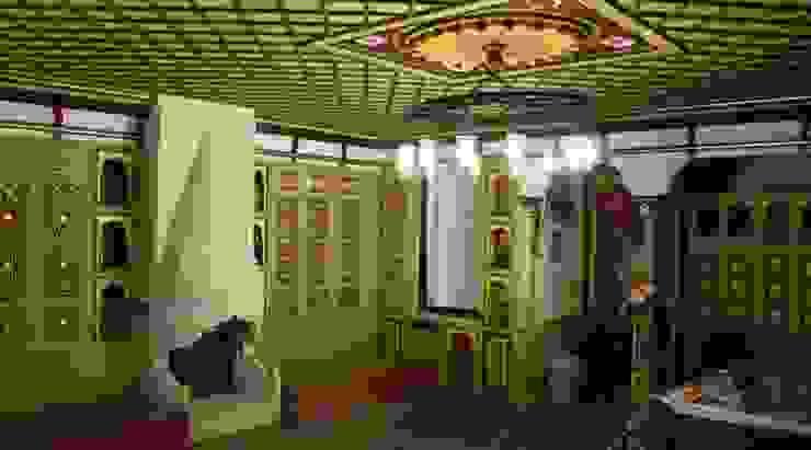 Salones clásicos de Türk Evi Kütüphanesi Clásico