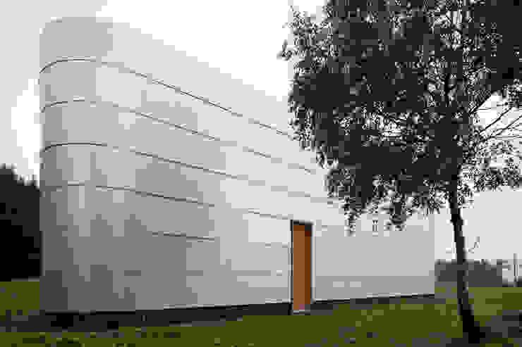 Fassade Minimalistische Museen von quartier vier Architekten Landschaftsarchitekten Minimalistisch