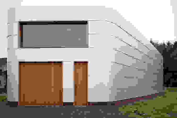 Frontansicht Minimalistische Museen von quartier vier Architekten Landschaftsarchitekten Minimalistisch