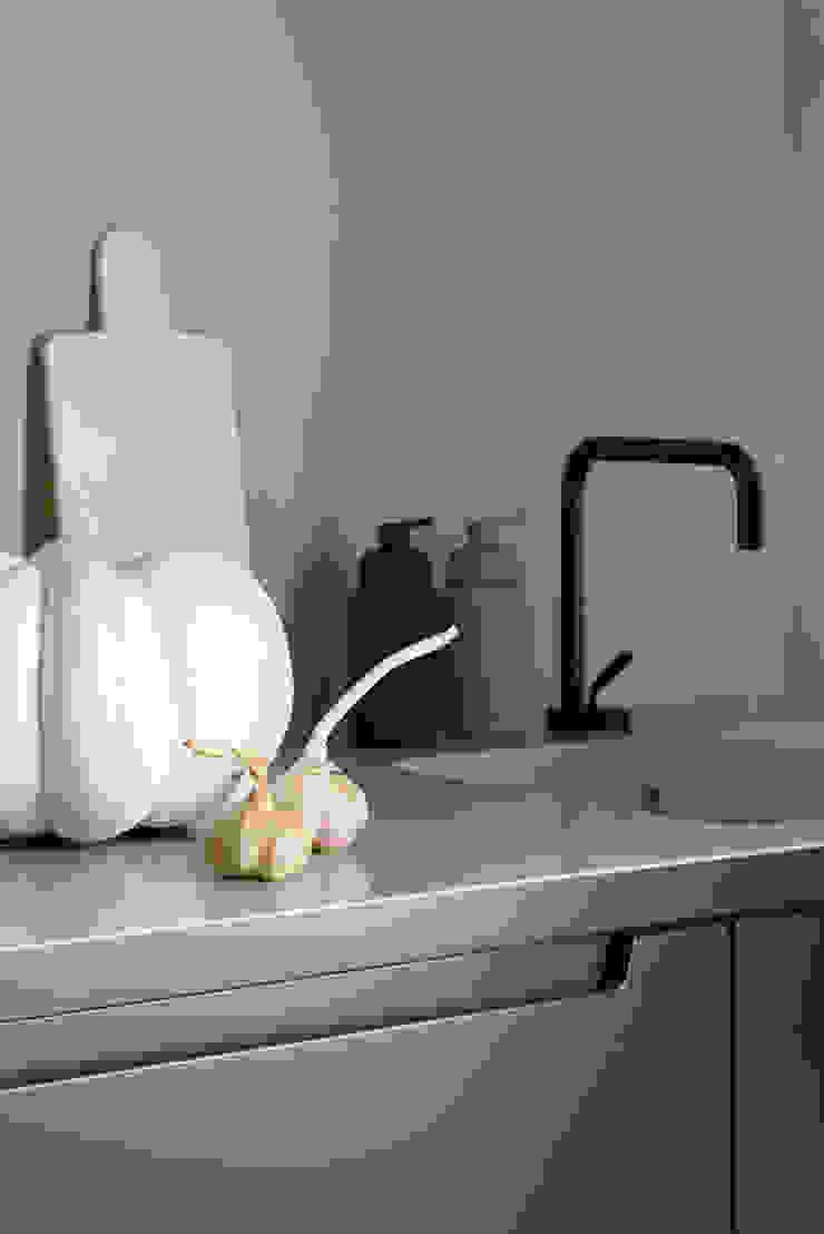Ażur w Pastelach Eklektyczna kuchnia od Pracownia Projektowa Poco Design Eklektyczny