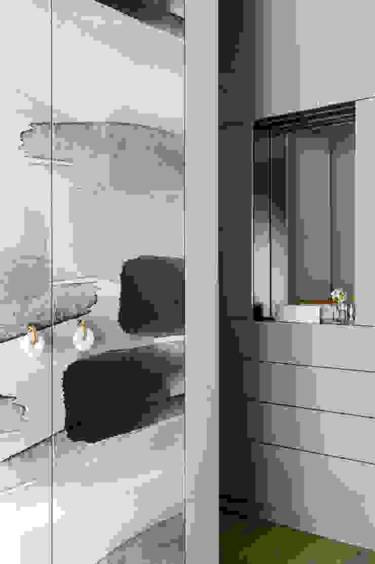 Ażur w Pastelach Eklektyczna sypialnia od Pracownia Projektowa Poco Design Eklektyczny