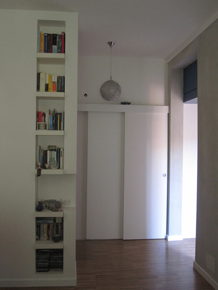 2bn architetti associati Ruang Keluarga Minimalis
