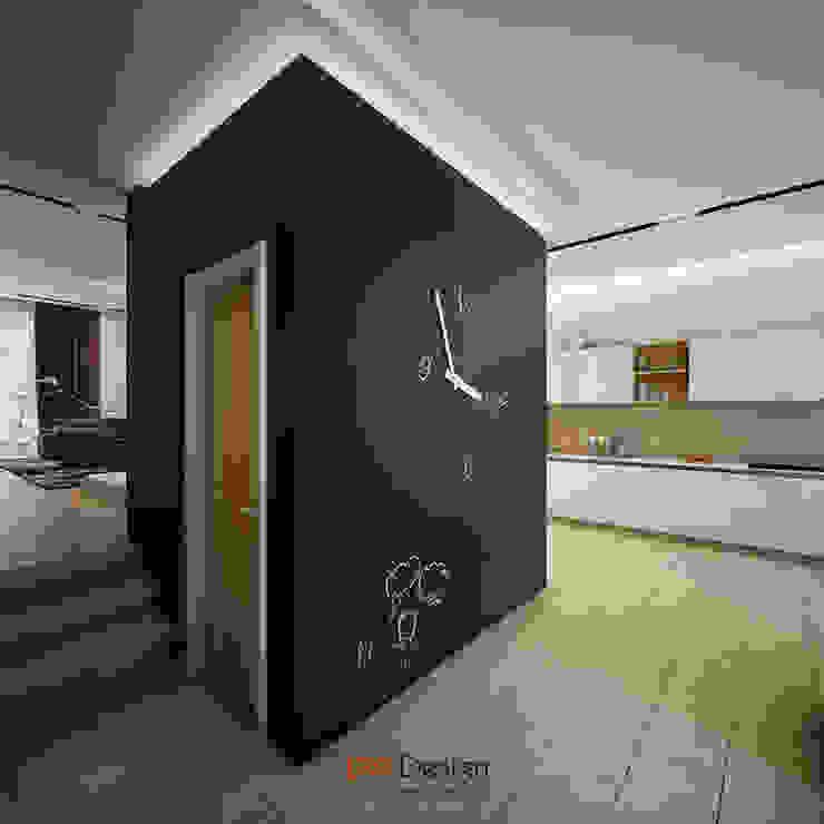 DA-Design Ingresso, Corridoio & Scale in stile minimalista